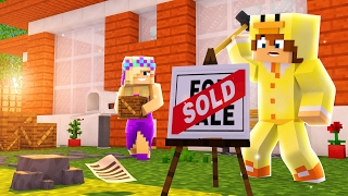 Minecraft Into The Future #03 - BABY DUCK & BABY LEAH BUY A HOUSE - Baby Duck Adventures