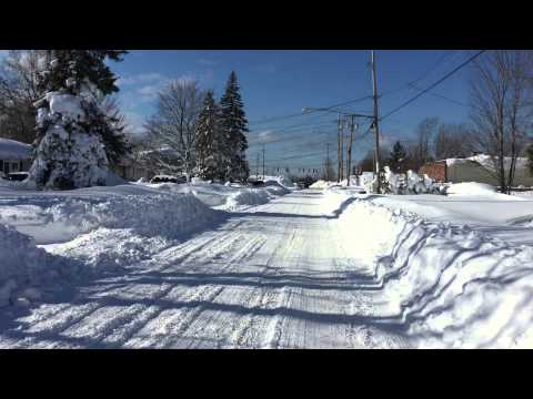 Buffalo Historic Lake Effect Storm- November 2014- Aftermath
