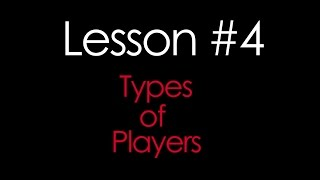 Types of Players in Poker