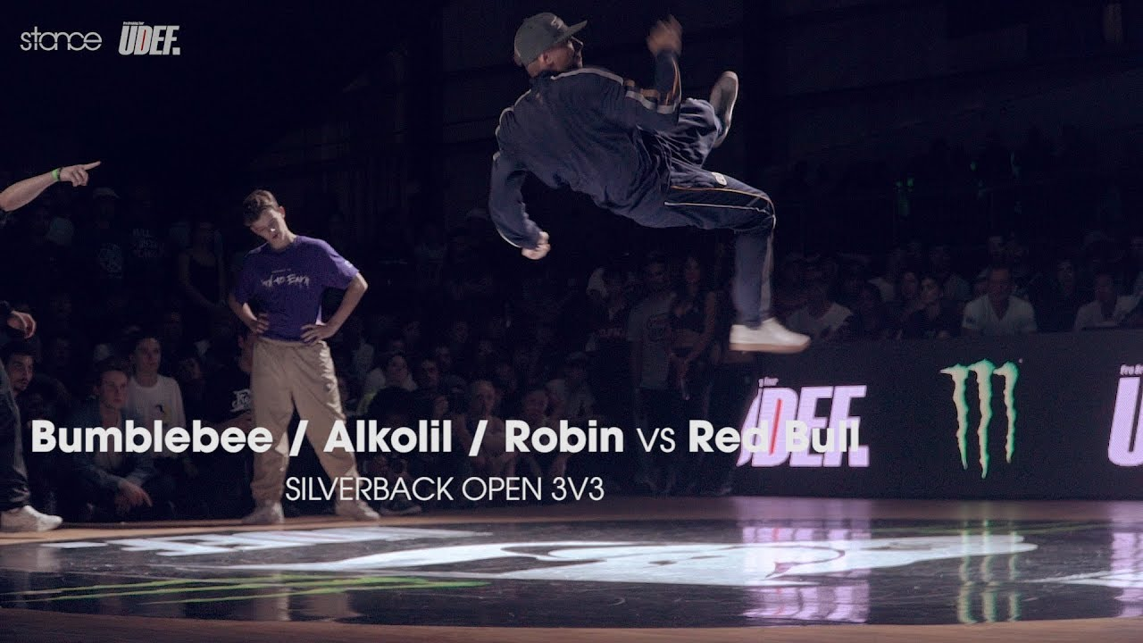 Bumblebee / Alkolil / Robin vs Red Bull BC One All-Stars ► .stance x Silverback Open 2017 ◄