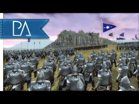 GREAT GONDORIAN INVASION - Third Age Total War Gameplay
