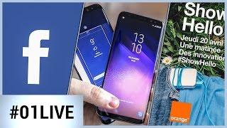 01LIVE HEBDO #139 : Les premiers résultats des tests du Galaxy S8 !
