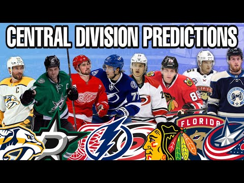 NHL 2021 Central Division Predictions
