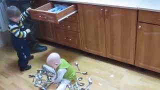 Развивающие ложки-вилки и ножи.