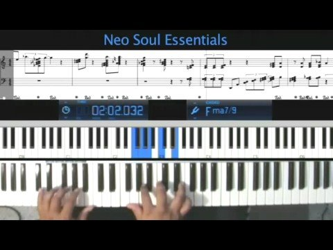 Piano neo soul piano chords : Neo-Soul Piano on LearnJazzPiano.com