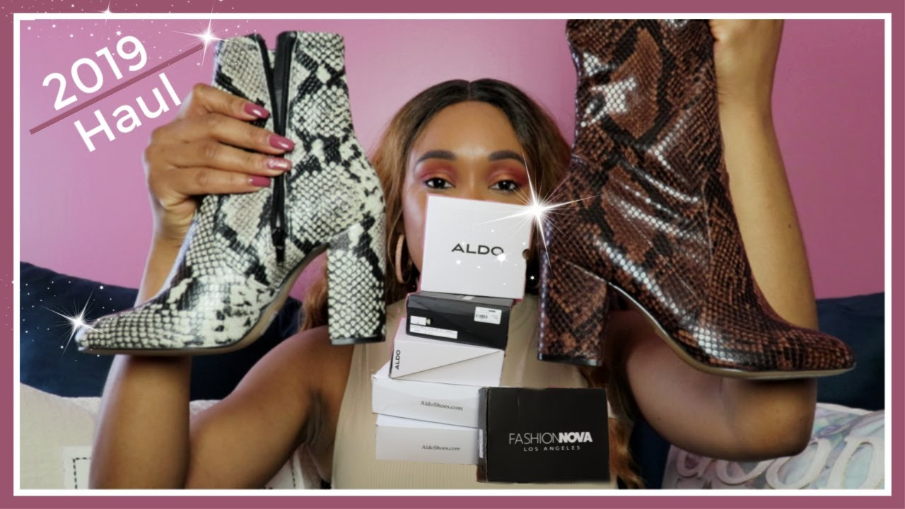 Booties for Fall/Winter 2019 | ft. Aldo
