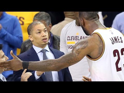LeBron James on Cavs' Tyronn Lue's calm coaching style