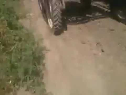 yüksek çatılı traktör