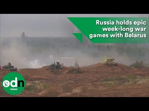 Russia holds epic week-long war games with Belarus