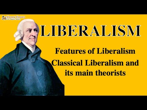 Political Science for UPSC -  Liberalism Part 1