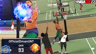NBA 2K17 MyPark: MINI Ankle Breaker and Catching Bodies With A Slasher!