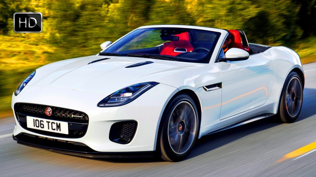 Jaguar FType Turbo Cylinder Convertible Design Overview - 4 cylinder jaguar