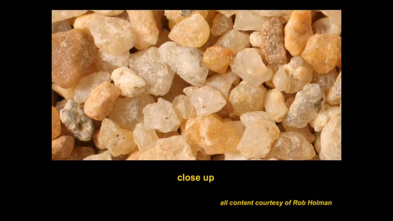 Sand Under Magnification: The Sand Quiz