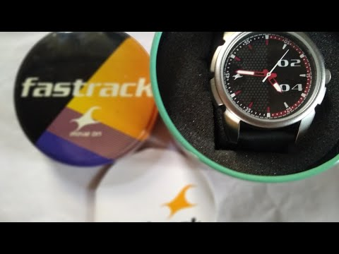 Fastrack Loopholes Analog Black Dial Watch Unboxing 🇮🇳🇮🇳🇮🇳