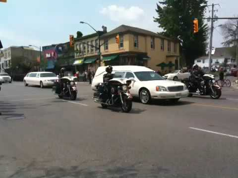 Funeral Procession For OPP Constable Alan Hack July 10, 2009