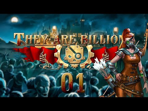 THEY ARE BILLIONS | WALLED COMPOUND #01 Zombie Strategy - Let's Play Gameplay