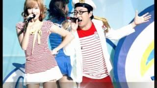 [ENG Sub] Jessica (SNSD) & Park Myung Soo - Naeng Myeon ( Cool Noodle ) ( MP3 /  K POP )