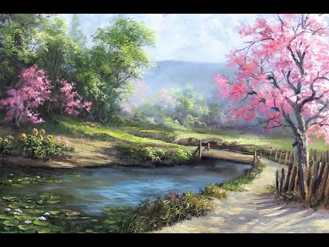 Spring Day Painting art Demo - YouTube - photo of spring