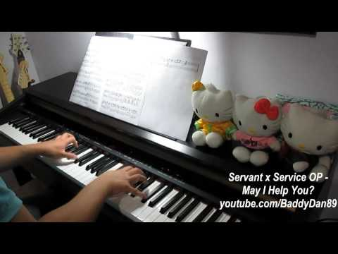 Servant X Service OP - May I Help You? Piano Transcription