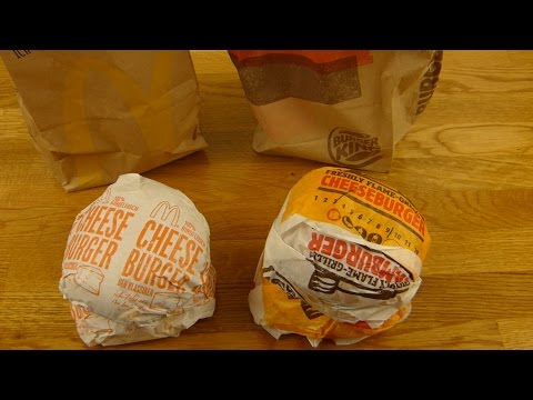 McDonald's vs. Burger King - CHEESEBURGER