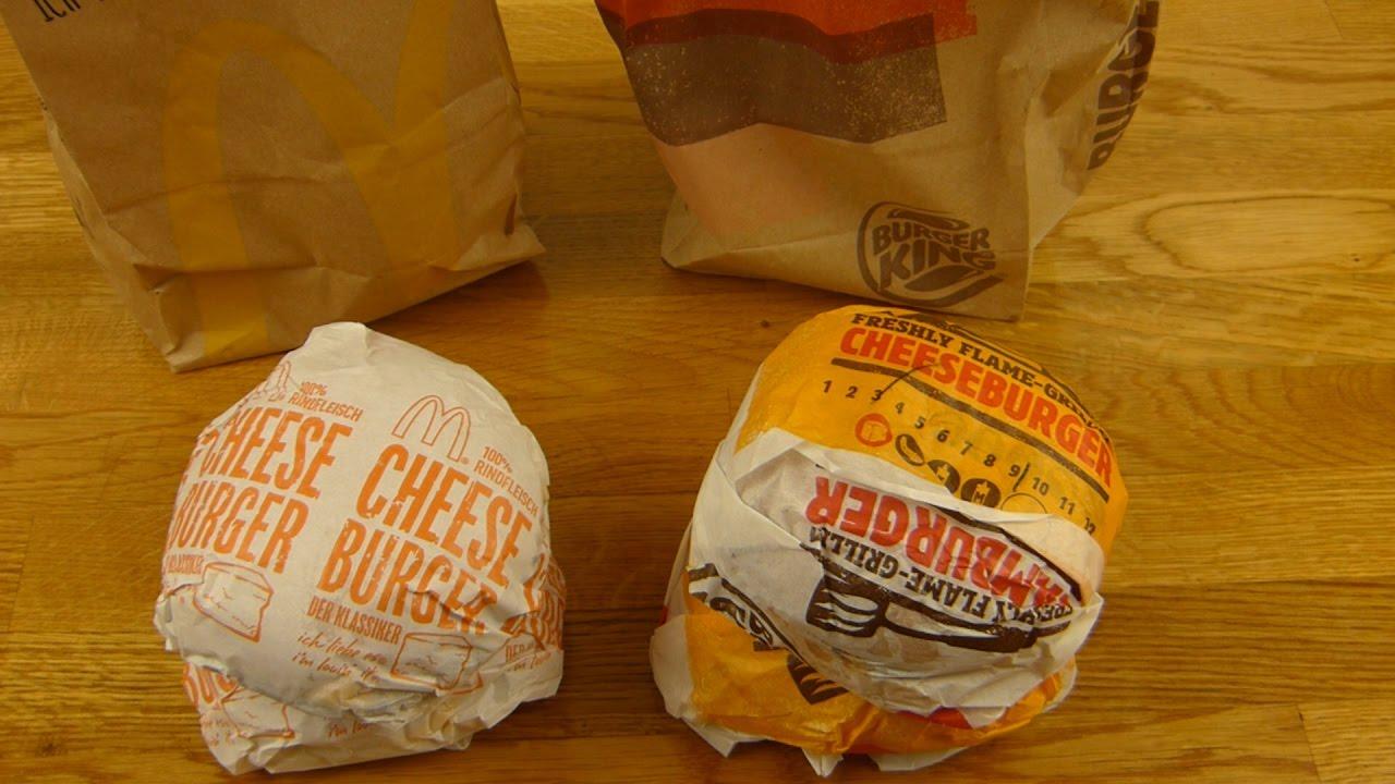 McDonalds Vs Burger King