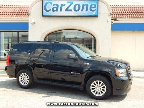 2008 Chevrolet Tahoe Hybrid Used Suv Baltimore Md Carzone Usa