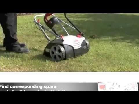 Combi 32vle Lawn Scarifier Aerator