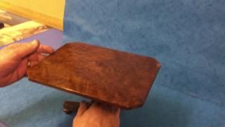 Antique Miniature Tilt Top Table,  For Sale Online