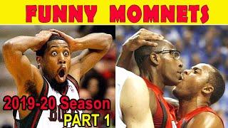 NBA Funny Moments Bloopers of 2019-20 Season l  Part 1 HD