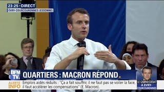 """Immigration: """"Je ne crois pas du tout aux gens qui font des murs"""", déclare Emmanuel Macron"""