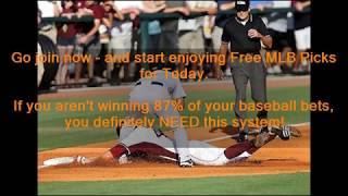 Free MLB Picks for Today - Get Free MLB Picks for Today at MLB-PICKS.SITE - Proven 87.68% Accurate!