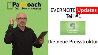 Evernote Updates #1: Die neue Preisstruktur