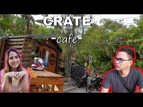 """CRATE CAFE"" Cebu"