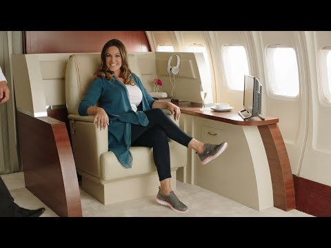 Skechers Wide Fit commercial with Kelly Brook