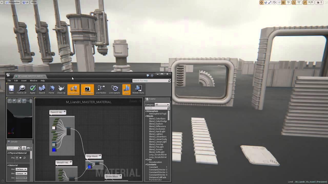 Visual Development by Epic Games in UE4 | Moritz Weller CGI