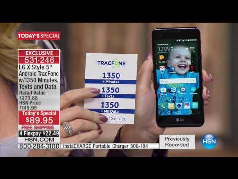 HSN | Electronic Connection featuring TRACFONE 01.27.2017 - 04 AM