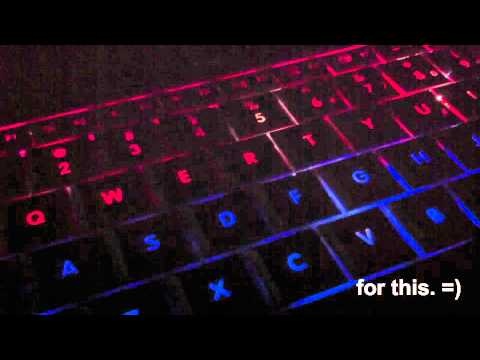 MacBook Pro Customized Keyboard Backlight