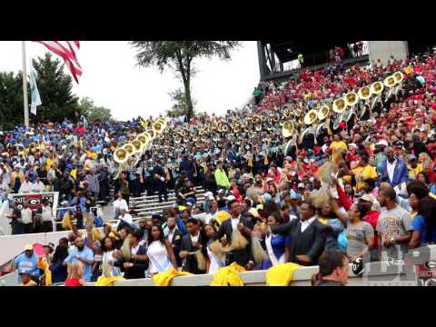 Southern University Marching Band Highlights vs UGA Sanford Stadium (2015)