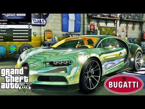 2017 Bugatti Chiron - Extreme Graphics !!!
