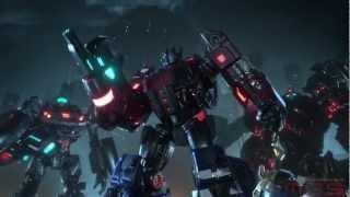 Transformers: Fall of Cybertron - Трейлер к выходу игры