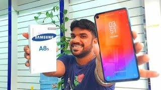 Samsung A8s unboxing first look review in india|| in Hindi by technical guruji