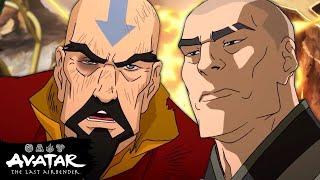 Tenzin vs. Zaheer and The Red Lotus 🌪️ The Ultimatum Full Scene | The Legend of Korra