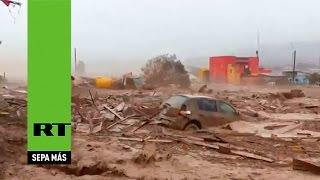 El 'tsunami' de Atacama: lluvias inesperadas inundan el desierto más seco de Chile