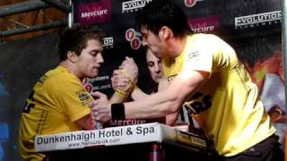 Andy Barker vs Frode Haugland iron curtain 09