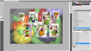 Создание простого коллажа в Adobe Photoshop CS5