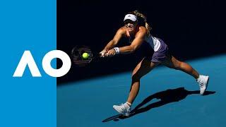 Camila Giorgi vs Angelique Kerber - Match Highlights (3R) | Australian Open 2020