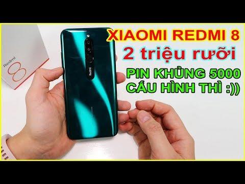 Mở Hộp Xiaomi Redmi 8 Giá 2tr5 Trên LAZADA, SHOPEE. Pin Trâu Bò, Cấu Hình Hơi Cùi | MUA HÀNG ONLINE