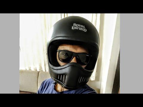 Unboxing of Royal Enfield Urban Trooper Helmet
