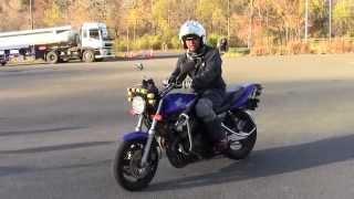 教習所で役立てて欲しい動画:バイクの角度はアクセルで制御