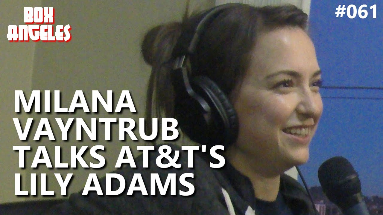 milana vayntrub on at&t's lily adams - youtube